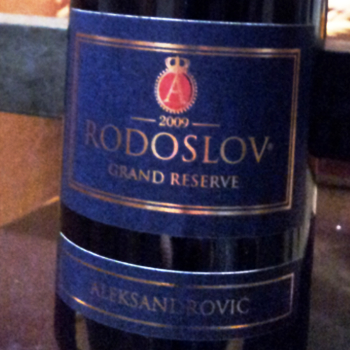 Rodoslov Grand Reserve 2009