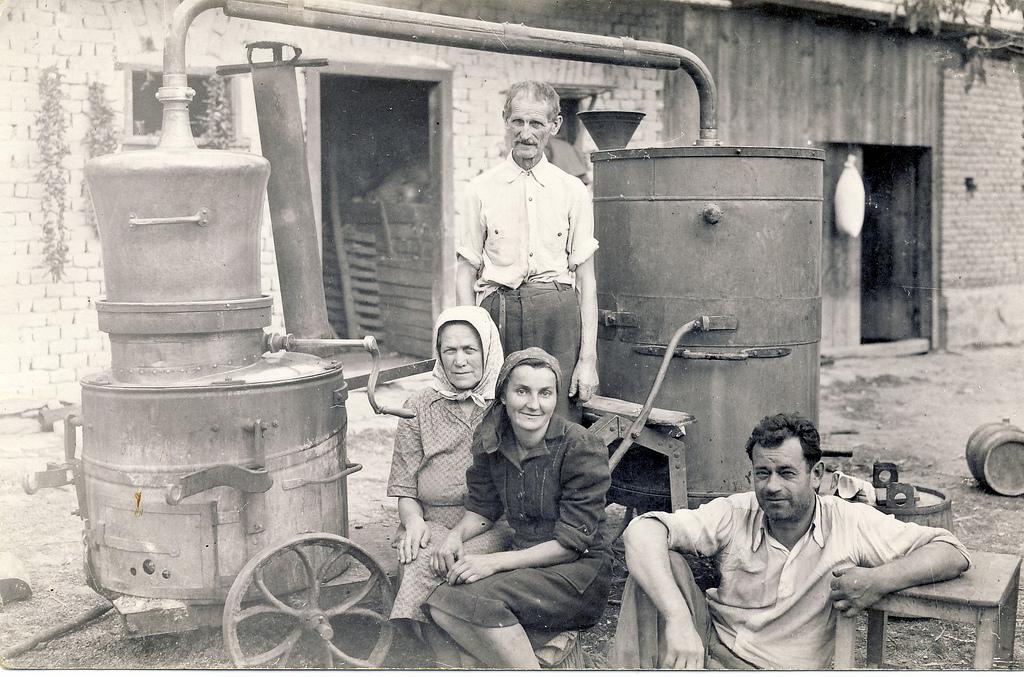 rakija production vintage
