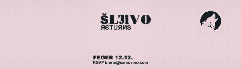 Sljivo returns Rakiabar Samovino