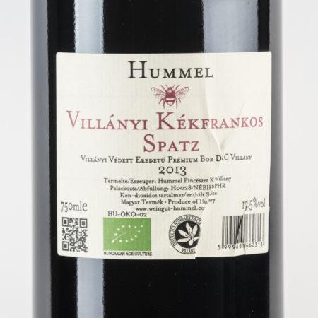 spatz_blaufraenkisch_kekfrankos_online_kaufen_weingut_horst_hummel_ungarn_villany